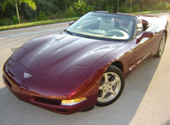 2003 CORVETTE 50TH ANNIVARSARY