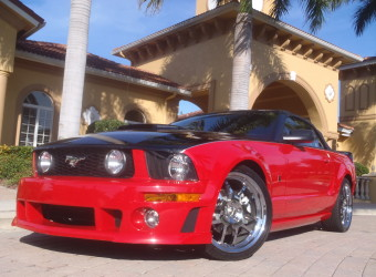 2007 MUSTANG ROUSH ROADSTER