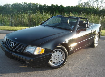 96 MERCEDES SL500 BLACK