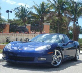 2005 Chevy Corvette Cpe
