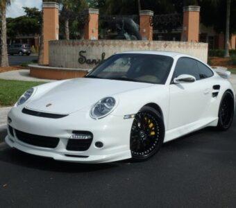 2007 Porsche Turbo Tech Art