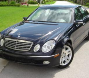 2003-MERCEDES-E500