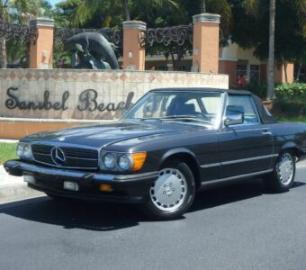 87-Mercedes-560SL